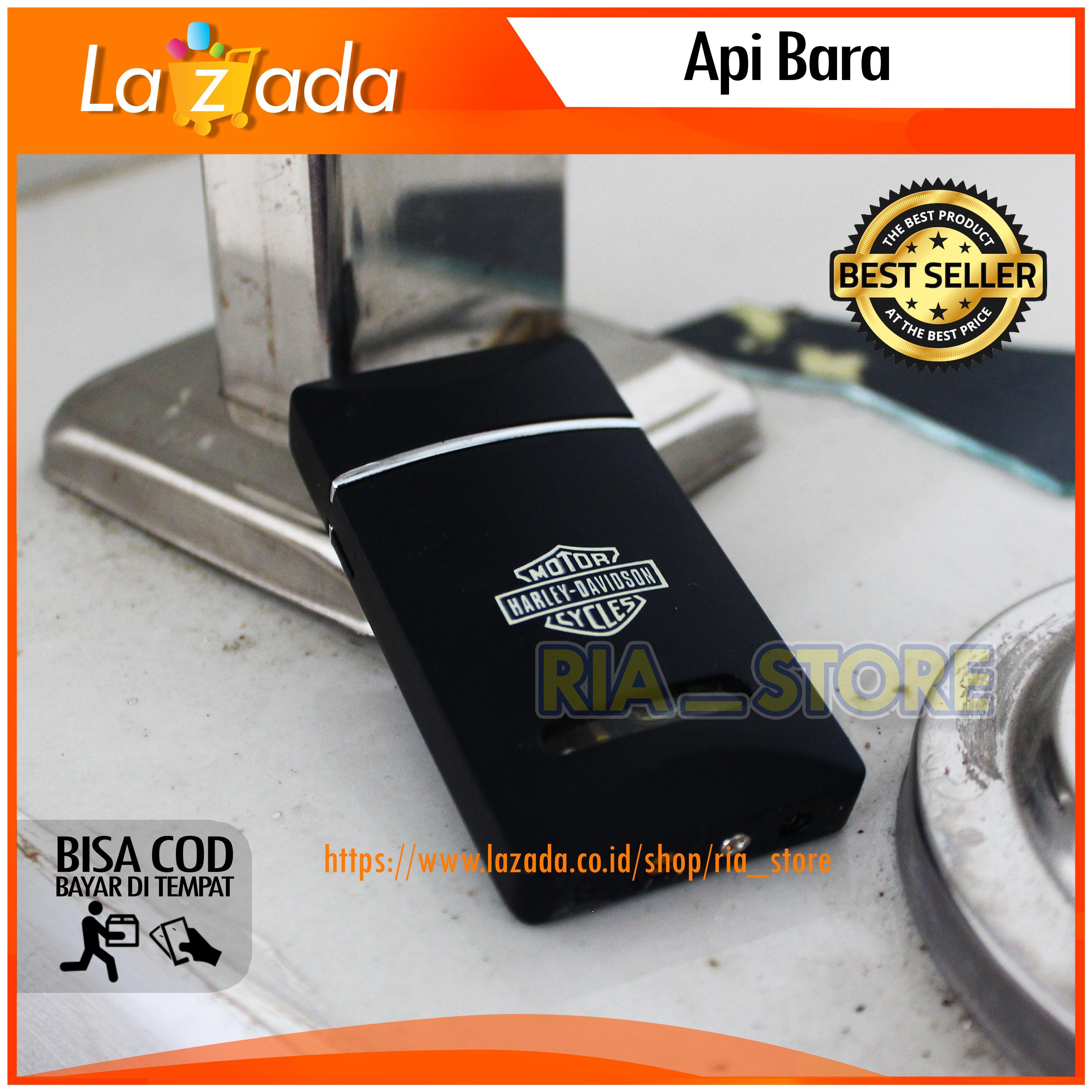 Korek Api Model Harley davidson BL HD 913 Black, Korek Api Exclusive, Korek Bara