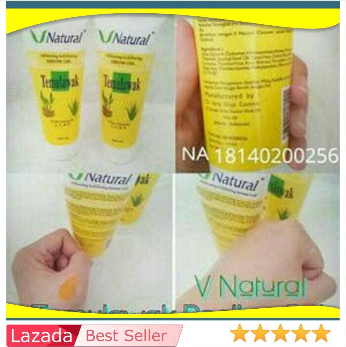 Serum Gel Temulawak / Peeling / Penghilang Daki V Natural Bpom Ori / Produk Kecantikan Kesehatan Wanita Kesehatan Wanita / Vitamin Suplemen / Suplemen Kesehatan Wanita