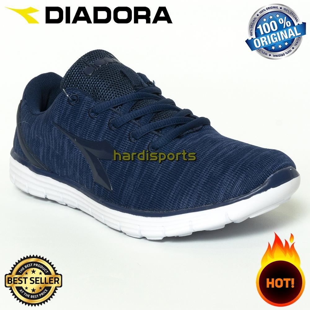 Sepatu Running Sneaker Pria Diadora Gio (M) DIAX8F0702NV - Navy 8a195fbcb5