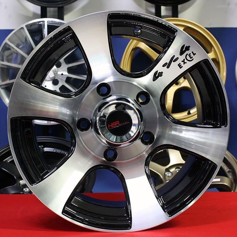 Velg Mobil Racing HSRDEUS JD6058 Ring 15 Jimny Katana Taft Escudo Vitara