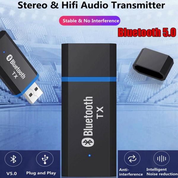 Bảng giá Bộ Chuyển Đổi Máy Phát Highmax USB Bluetooth 5.0, Bộ Chuyển Đổi Phát Âm Thanh Giắc Cắm Âm Thanh AUX 3.5Mm Bộ Thu USB Cho Loa Tai Nghe Máy Tính Xách Tay PC Phong Vũ