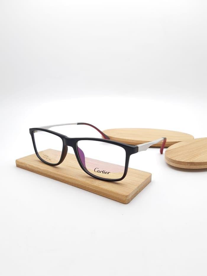 kacamata baca pria wanita Cartier 0168 kacamata minus