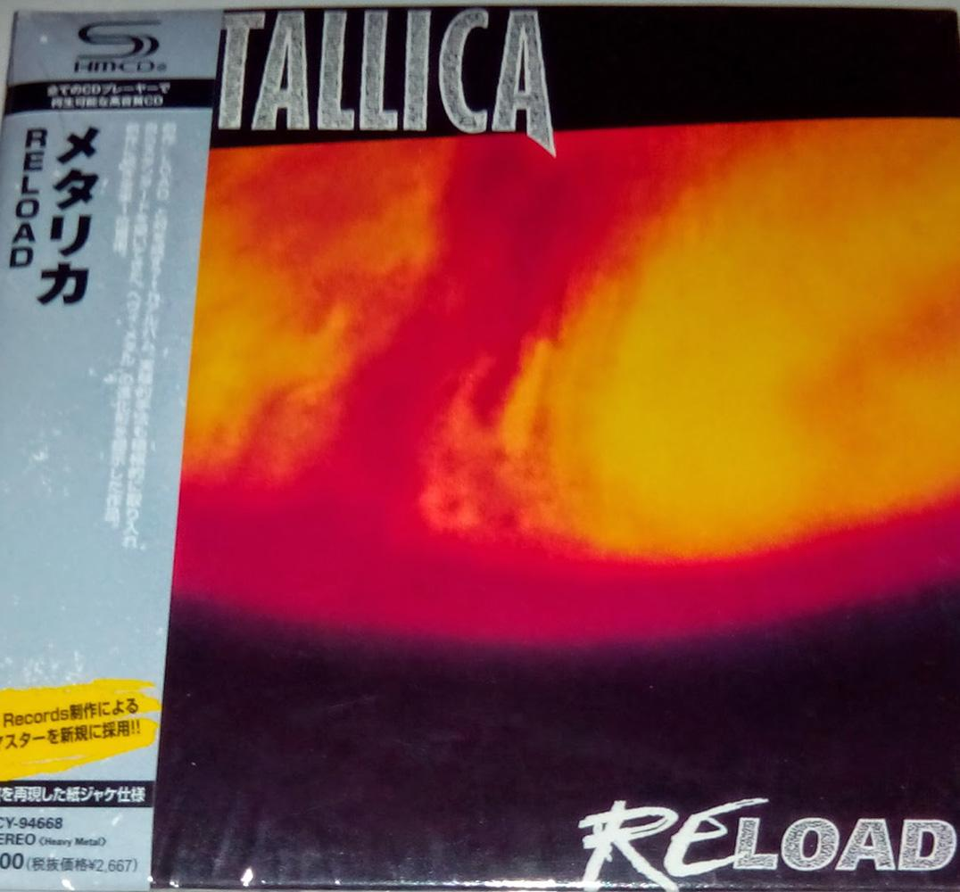 Cd Metallica - Reload By Womdisc.