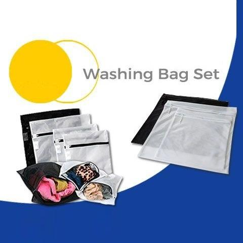 Ikea 3 Pcs Tas Cucian Pressa Laundry Bag Clothes Protector - High Quality Material By Home Shopping Online.