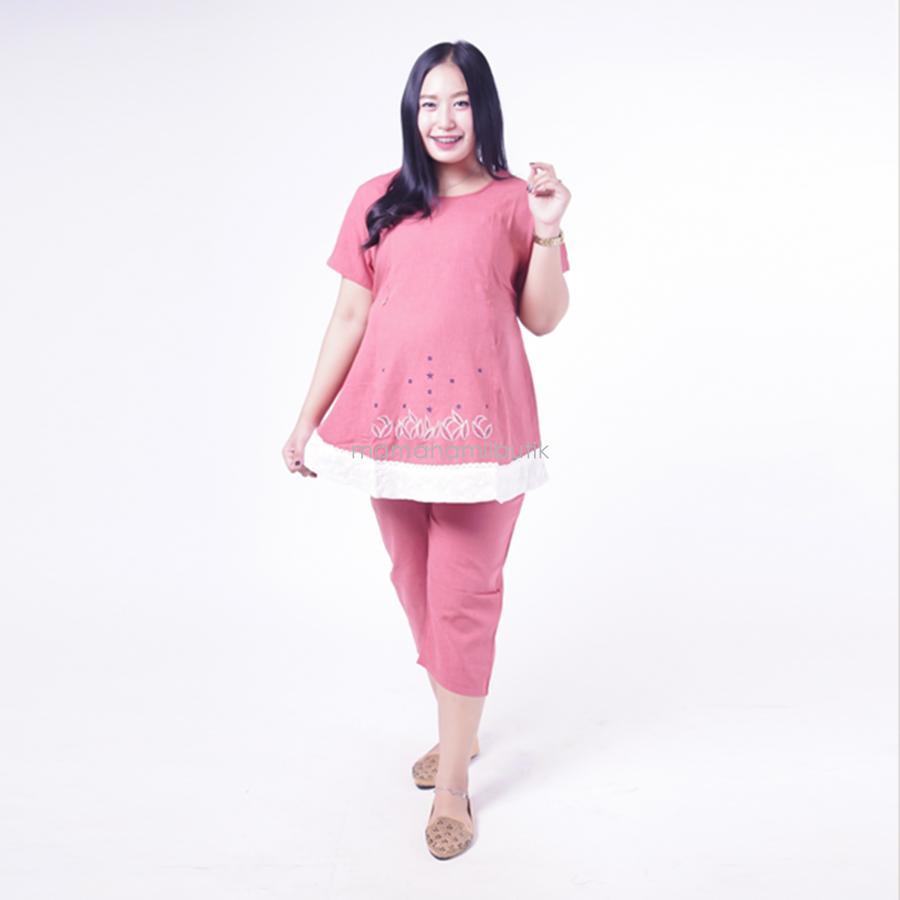 Mama Hamil Setelan Baju Hamil Menyusui Lengan Pendek Renda Putih Bintang - Atasan Ibu Hamil - Atasan Pendek Ibu Hamil - Baju Hamil Menyusui - Baju Hamil Muslim - Atasan Hamil Menyusui - Baju Hamil Murah - Dress Ibu Hamil - Baju Hamil Surabaya - STD 86