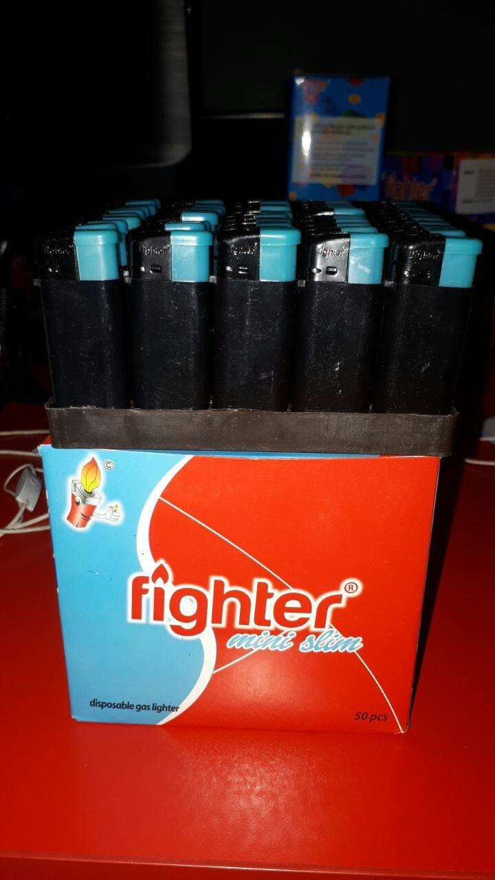Fighter mini slim Hitam polos Model Cricket