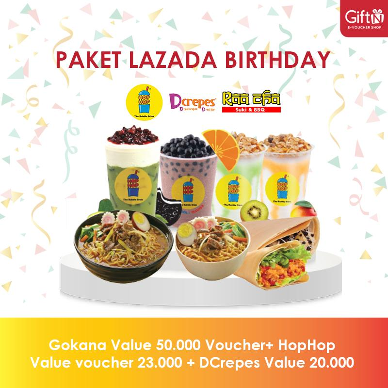 Lazada Birthday 1 By Giftn.