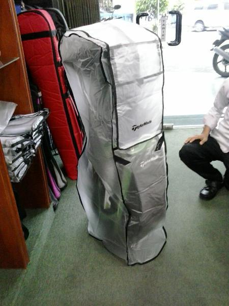 BEST SELLER / PROMO / ALAT GOLF / Rain Cover Bag Golf Honma