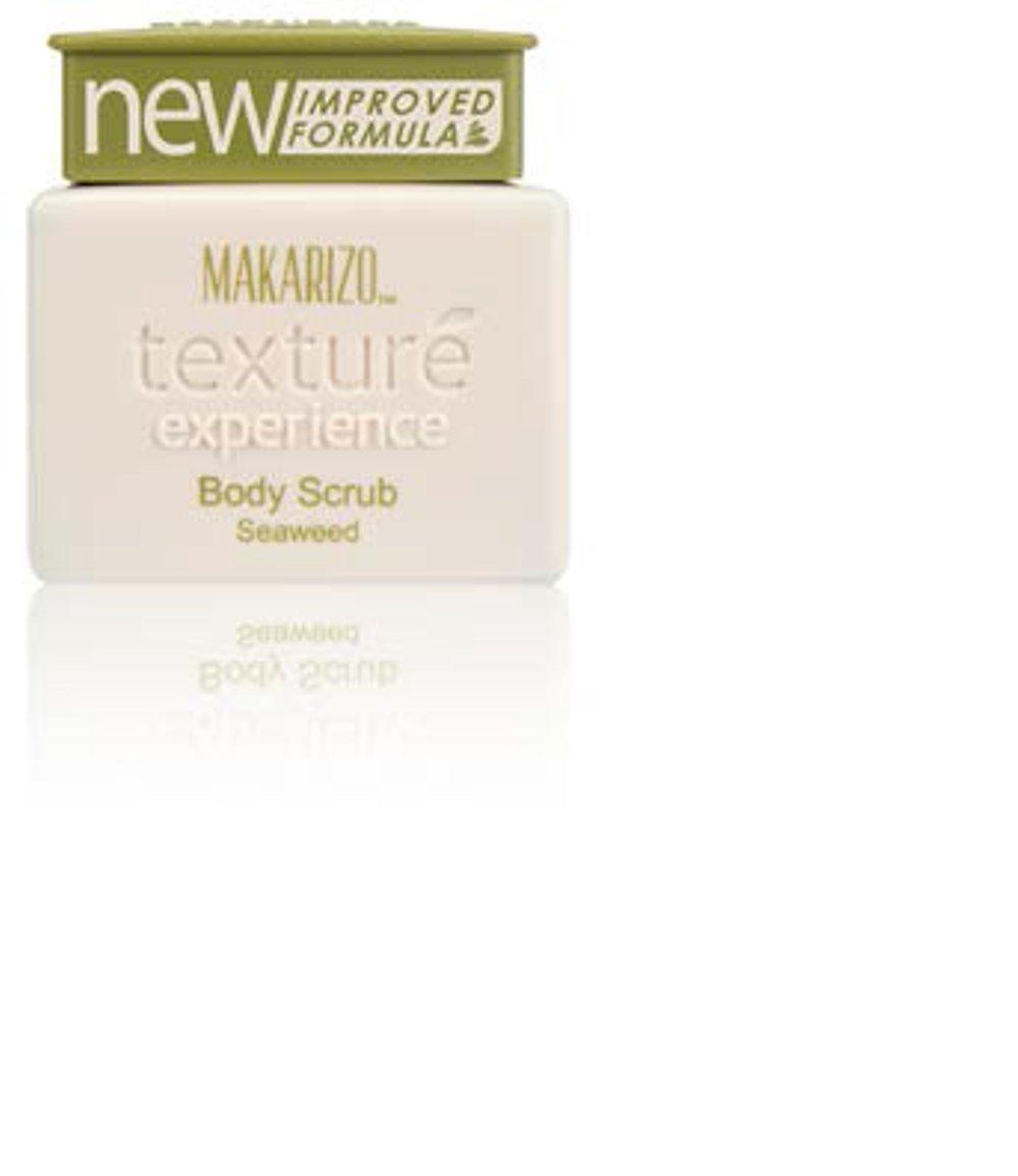 Makarizo Texture Experience Body Scrub Seaweed 150gr By Semi Grosir Mart.