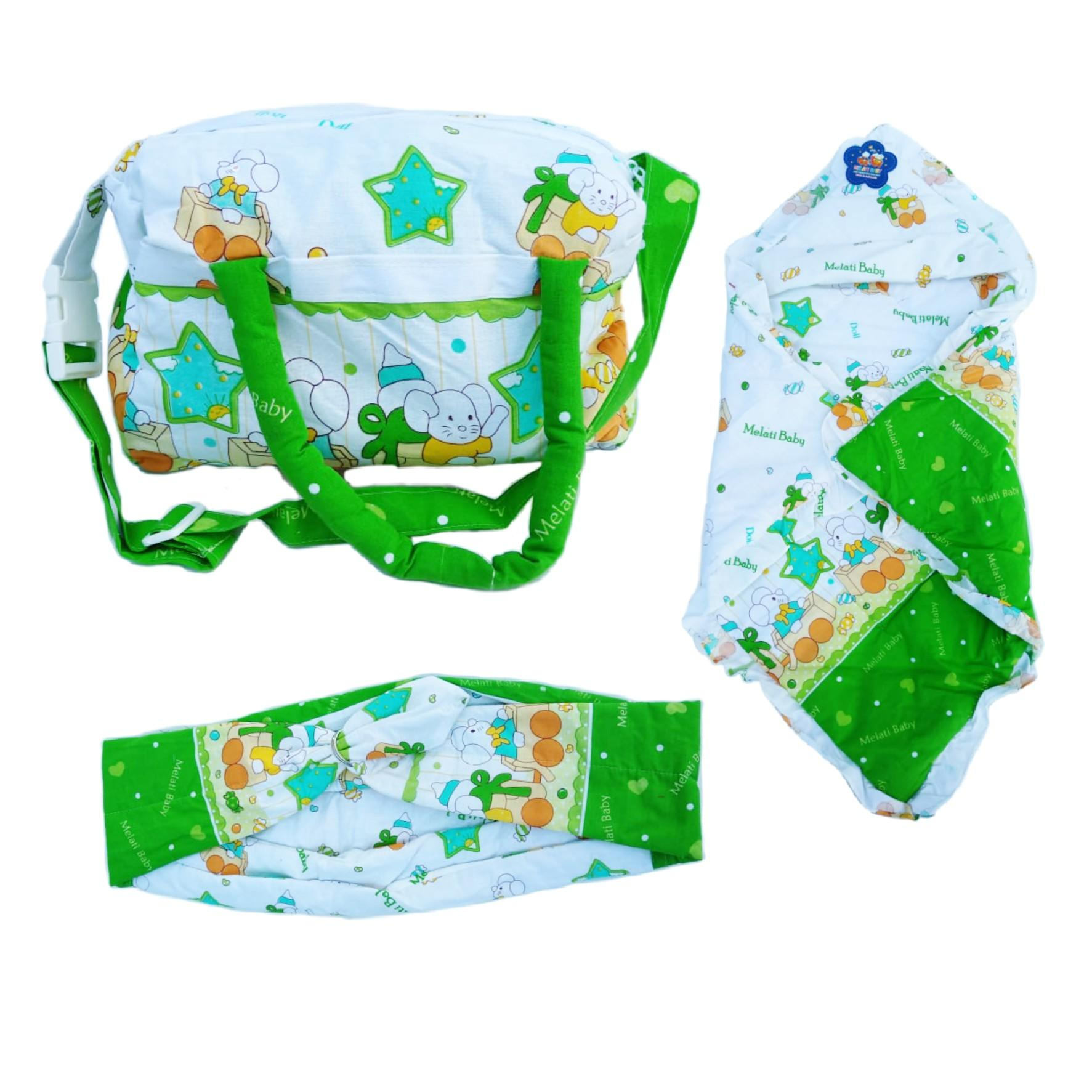 Perlengkapan Bayi Set Tas,selimut Dan Gendongan 02 By Alby Fashiont.