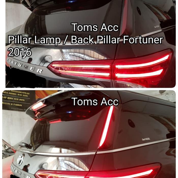 Fortuner 2016 2018 Vrz Lampu Led Pillar Reflektor Pintu Belakang Bar