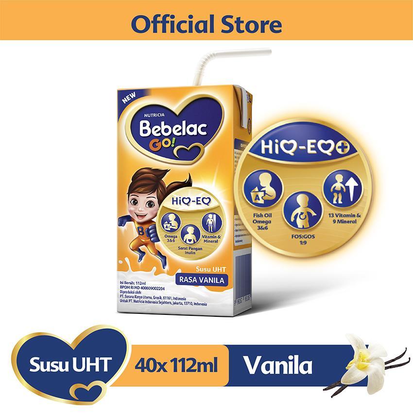 Bebelac Go! Susu Uht Rasa Vanila 112ml - Karton Isi 40 Pcs By Lazada Retail Bebelac.