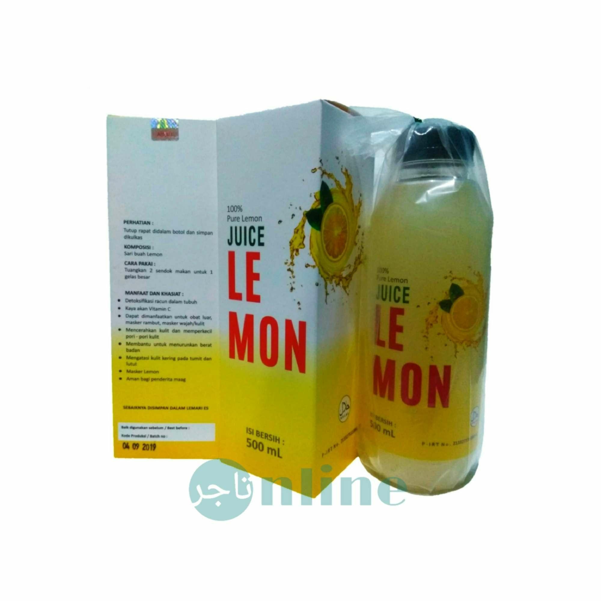 Juice Lemon Sari Lemon Bin Dawood adiknya LEMONA isi 500 ml 100% Original
