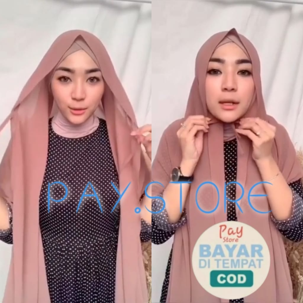 Baru Hijab Jilbab Pasmina Shawl Ada Talinya Di Dahi Hijab Jilbab Pasmina Shawl Tali Solehah Lazada Indonesia