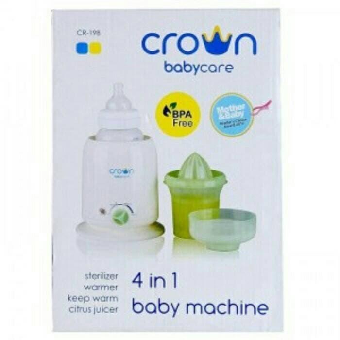 BEST SELLER Crown 4in1 Bottle Warmer Sterilizer 4 in 1 Penghangat Botol Susu ASI - xFtWmDYS