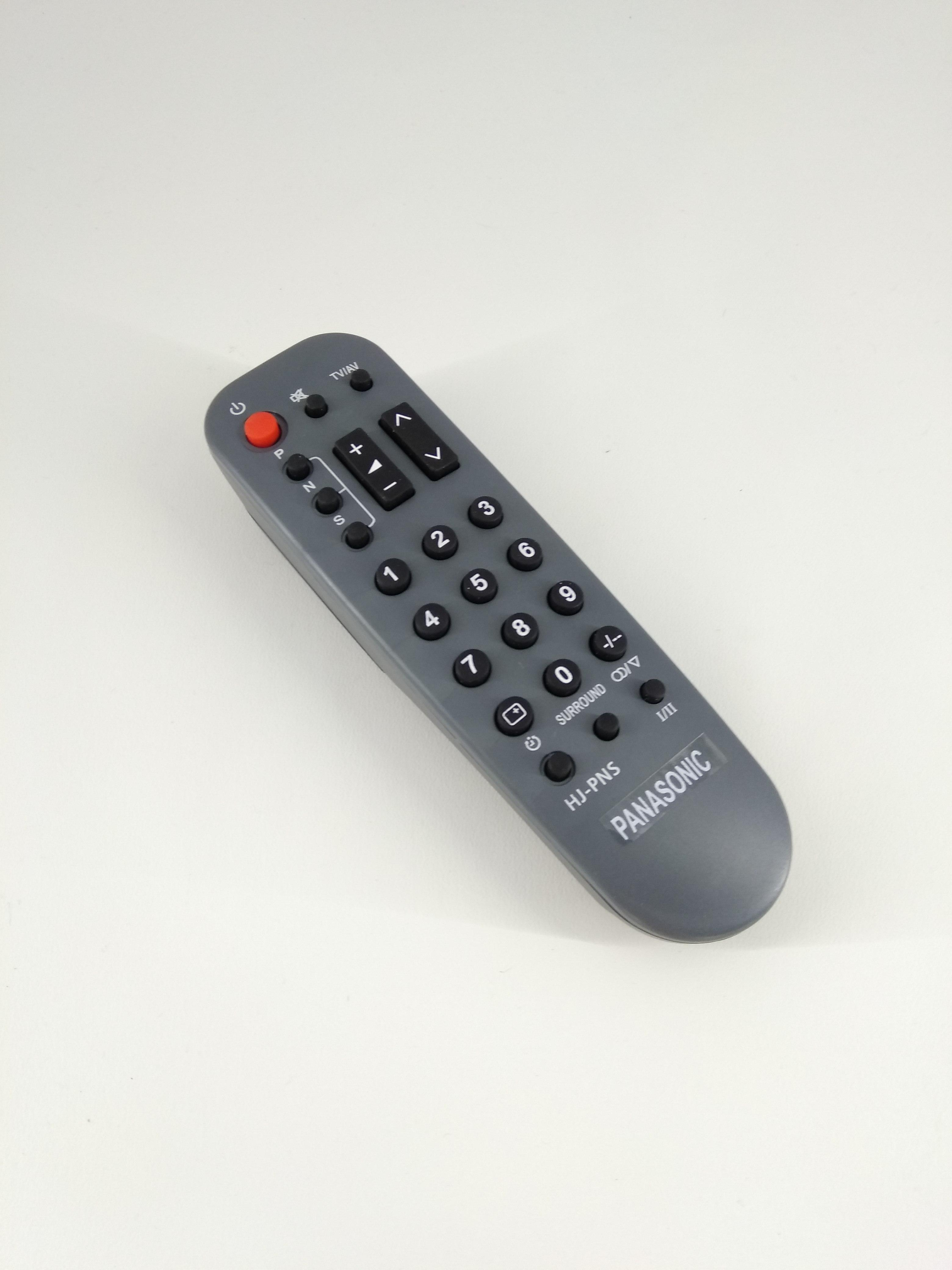 Remot Remote TV Panasonic Tabung Original Pabrik / KW (Grey)