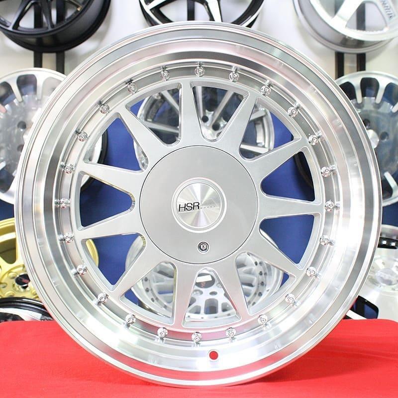 Velg Mobil Ring 15 HSRIKIMASU silver Celong murah Mobilio Brio Agya Avanza xenia