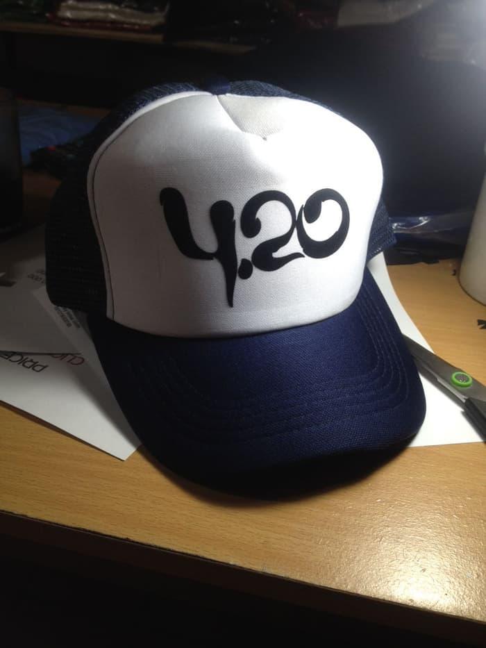 Topi jaring trucker hat 420 4.20 rasta - dear aysha