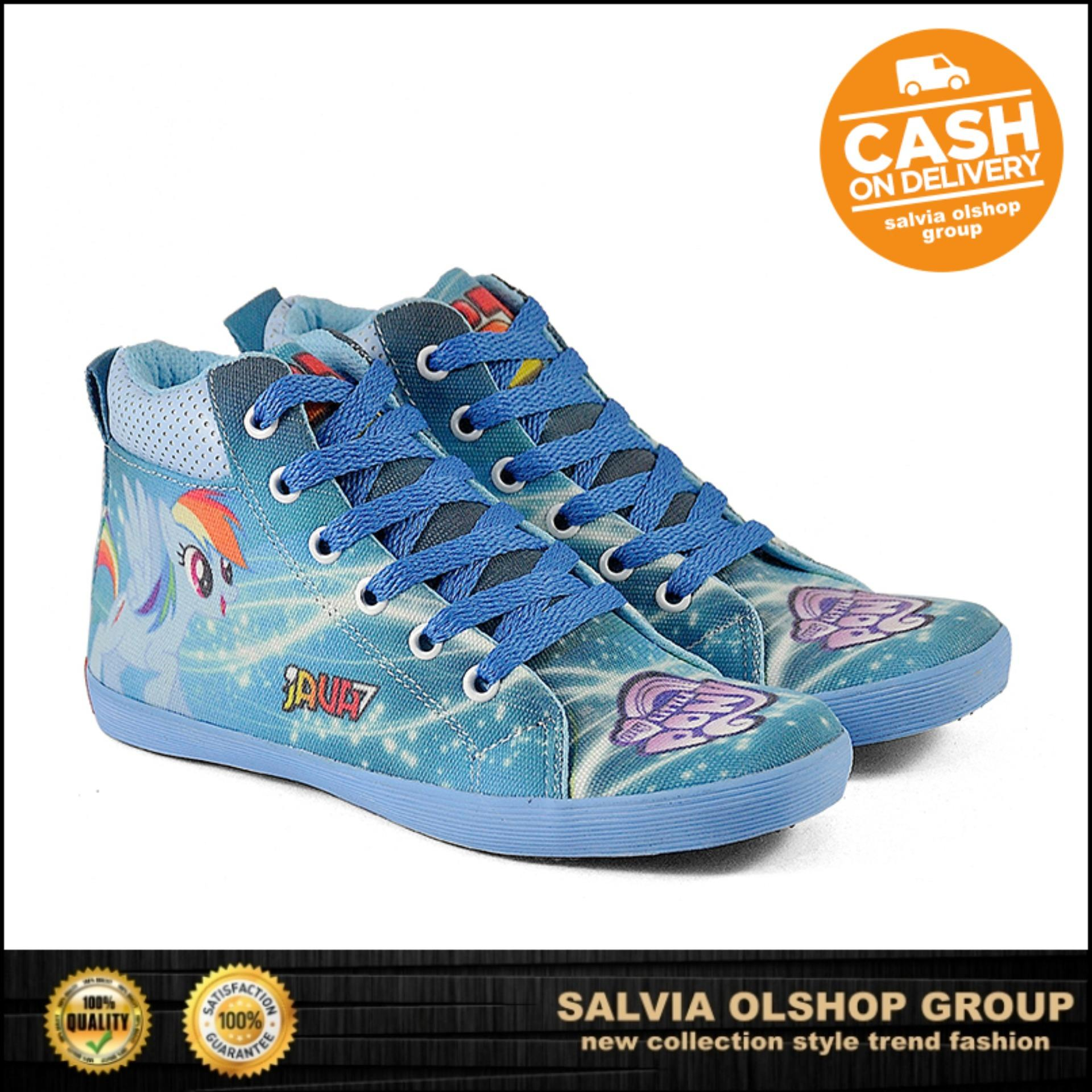 Java Sepatu Anak Perempuan Lucu Dan Modis Model Terbaru CNZ 793 - Biru 8d0d26c2ed