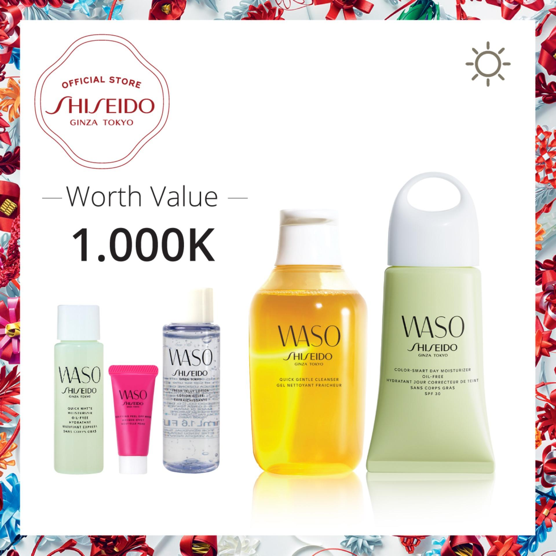 ... WHITENING 24K MASK / MASK GOLD CAIR ... - norma878. Source · Shiseido Waso Oil-Free Day Set Quick Gentle Cleanser 150mL + Smart Day Moisturizer Oil