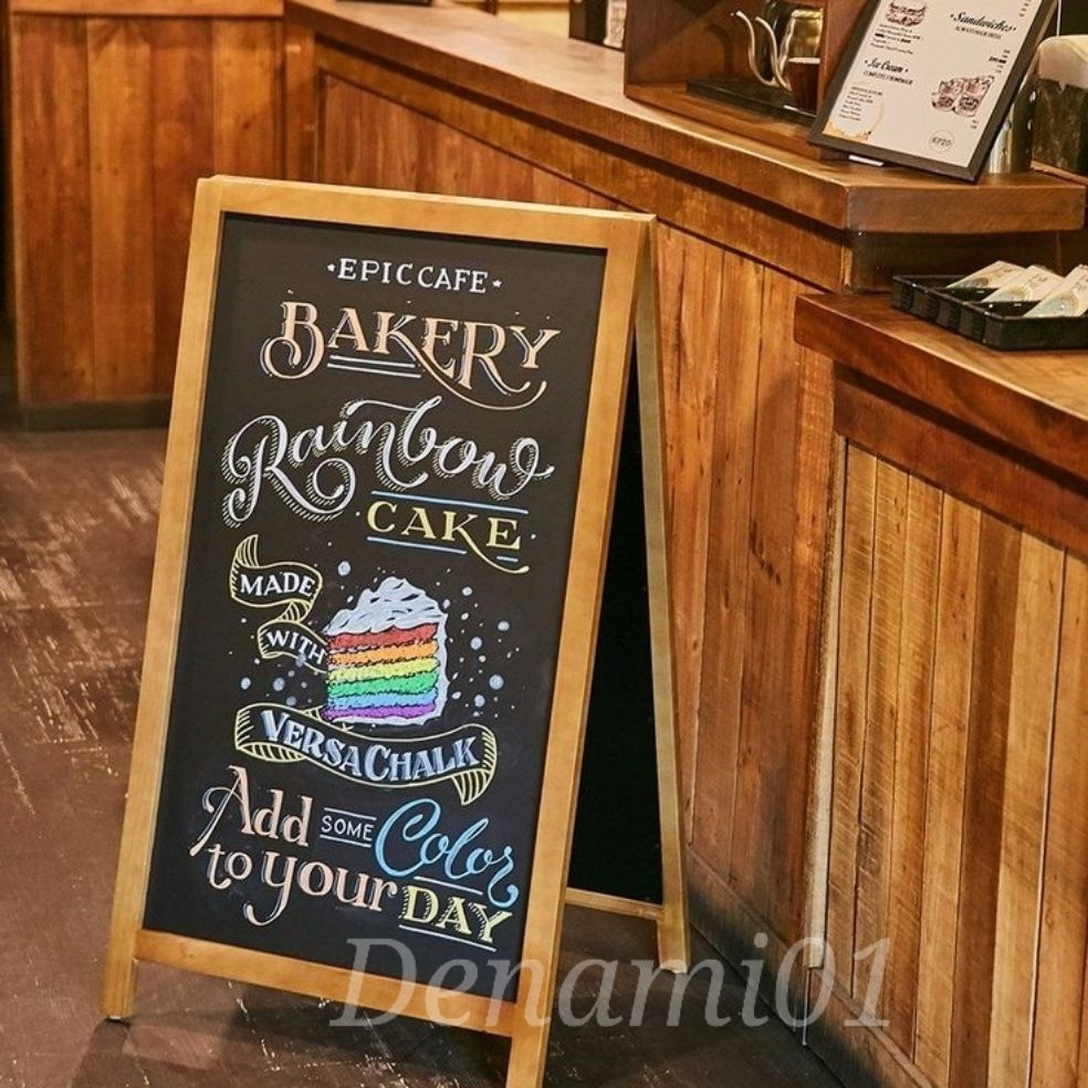 Desain Contoh Tulisan Kapur Cafe