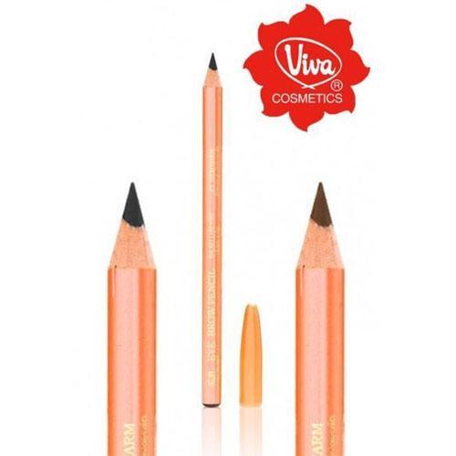 Viva Pensil Alis / Pencil Eyebrow Viva - Warna Coklat dan Hitam