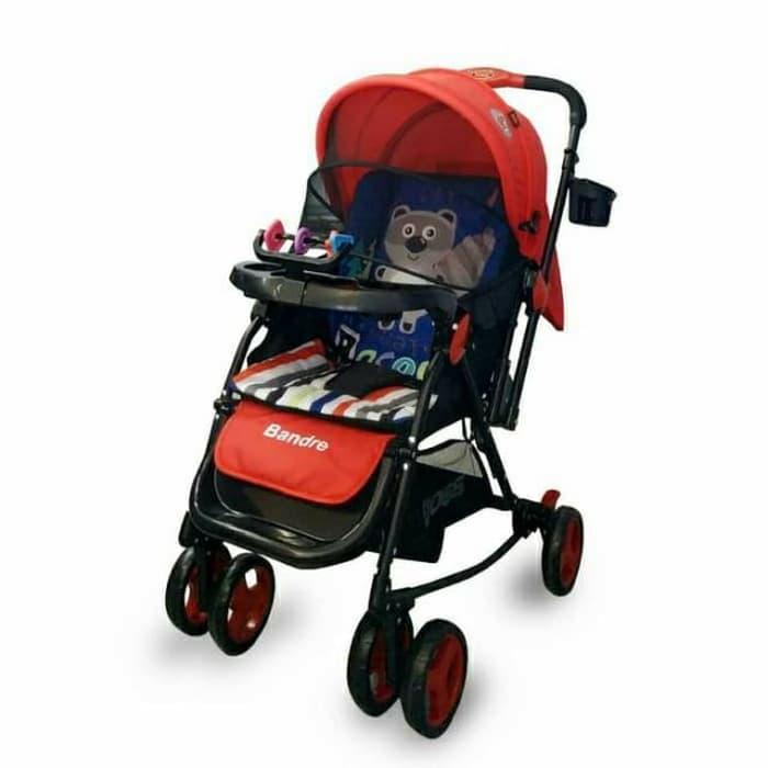 KMK17 Stroller Bayi Baby Does Bandre Bisa Jadi Ayunan