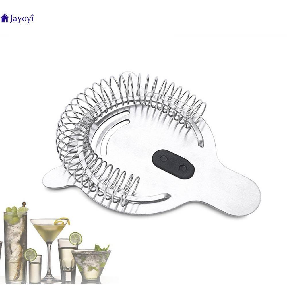 Jayoyi Stainless Steel Prong Bar Cocktail Strainer Strainer Bartender Bar Cocktail Shaker ice Filter Separator