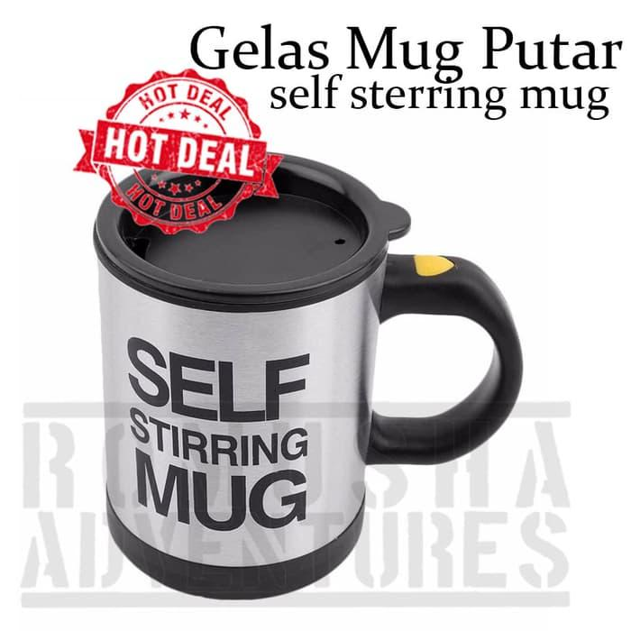 Romusha Gelas Adukajaib Putar Self Sterring Mug By Romusha Adventure