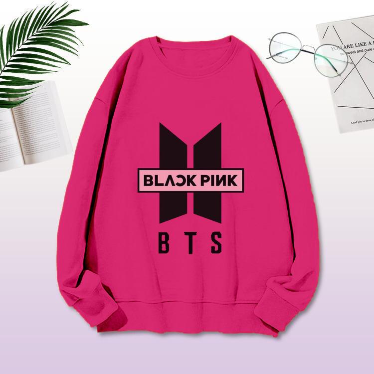 Sweater Blackpink Sweater Logo Army Blackpink Sweater Lengan Panjang Blackpink Lazada Indonesia