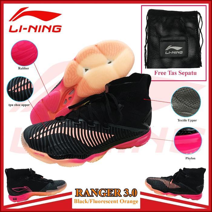Sepatu Lining Ranger 3 Sepatu Badminton Lining Ranger 3 Original By Fan Collection.