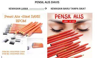DAVIS PENSIL ALIS - EYEBROW PENCIL DAVIS - PENSIL ALIS DAVIS thumbnail