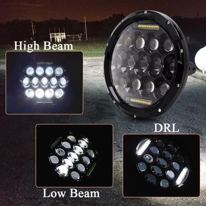Lampu Daymaker Headlamp Mobil Motor 7 inch Lampu Daymaker Motor