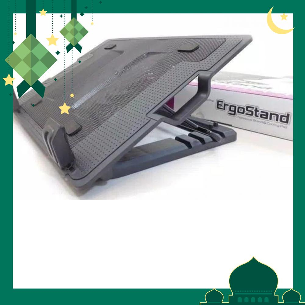 INDO WORLD TRADE - Meja Laptop Portable / Notebook Cooler Pad Stand Big Fan