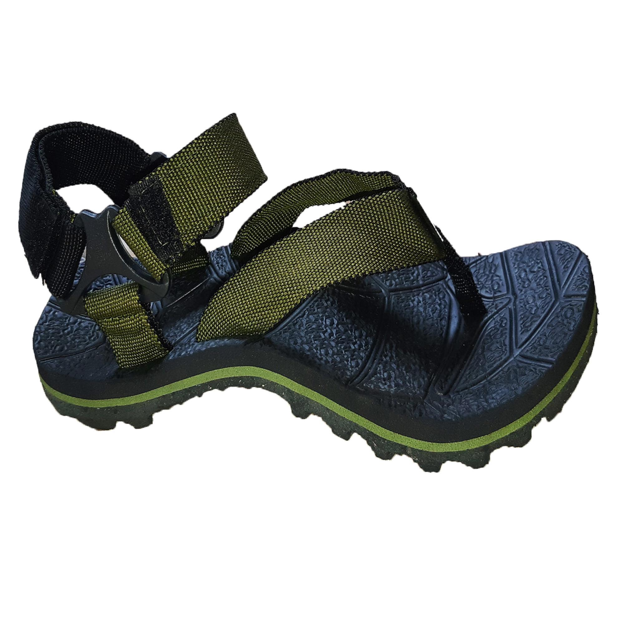 Sepatu Sandal Gunung Anak anak Zahira - BMB003 - Army