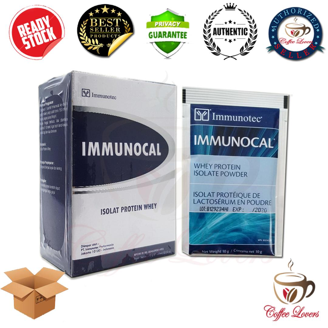 IMMUNOCAL ISOLAT PROTEIN WHEY SUSU IMUNOCAL ISI 7 PCS / BOX UTUH