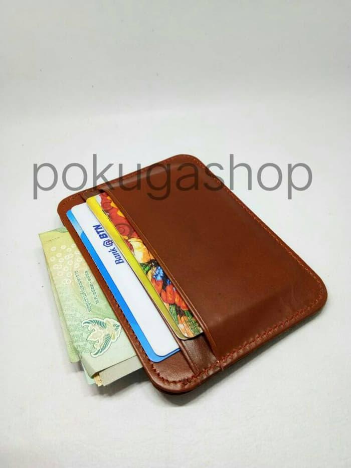 Minimalist Wallet Havana Pull Up /dompet Mini /minimalist Kulit Garut By Pd.karakatu Shoes Sport