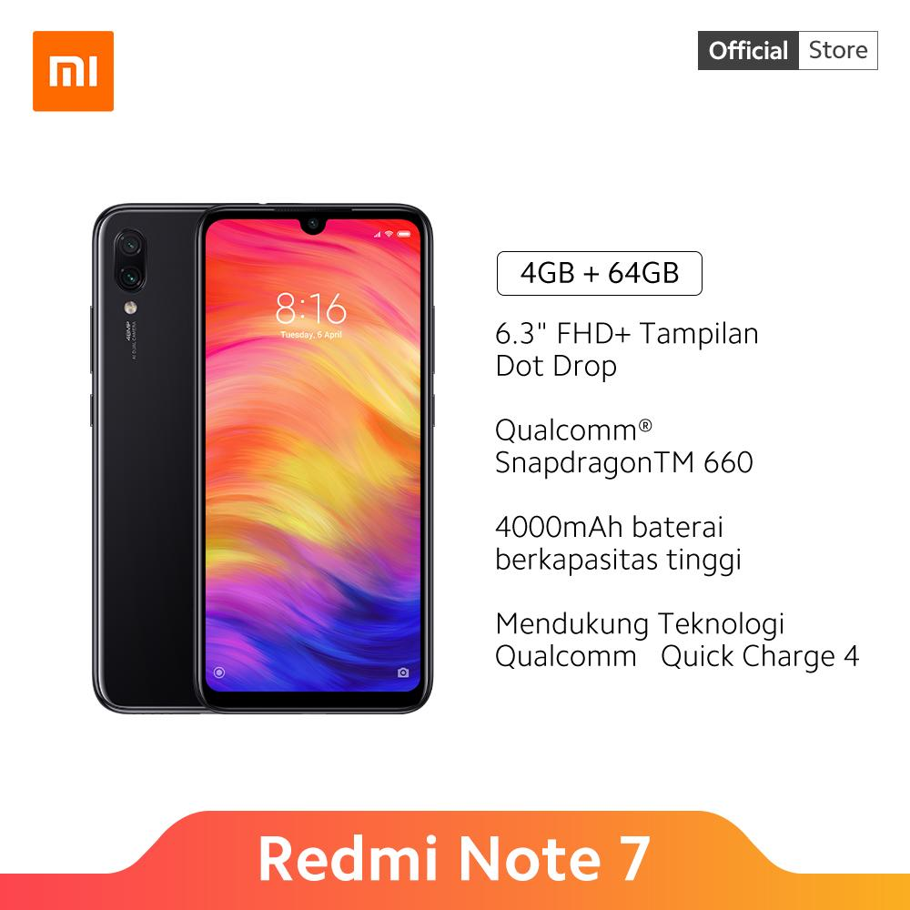 Redmi Note 7 (4GB+64GB) Snapdragon 660, 48MP+5MP dual kamera, 6.3 FHD+ Dot Drop