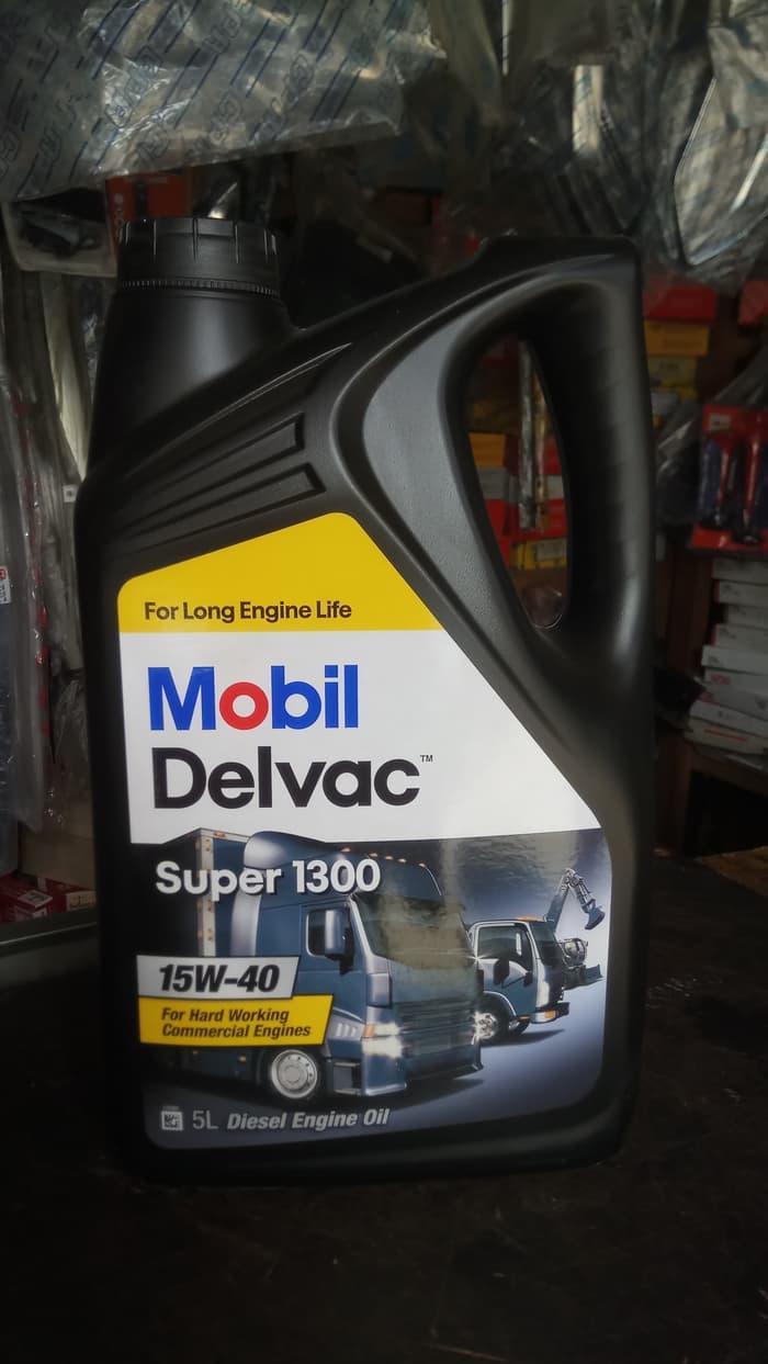 Oli Mobil Delvac Super 1300 15W-40 4X5L
