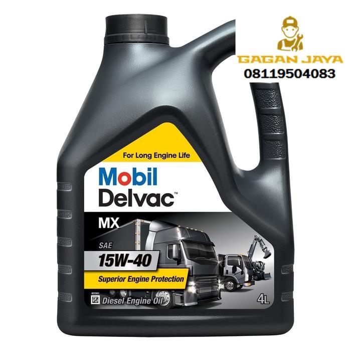 Oli Mobil Delvac 15W 40 Galon (5ltr)