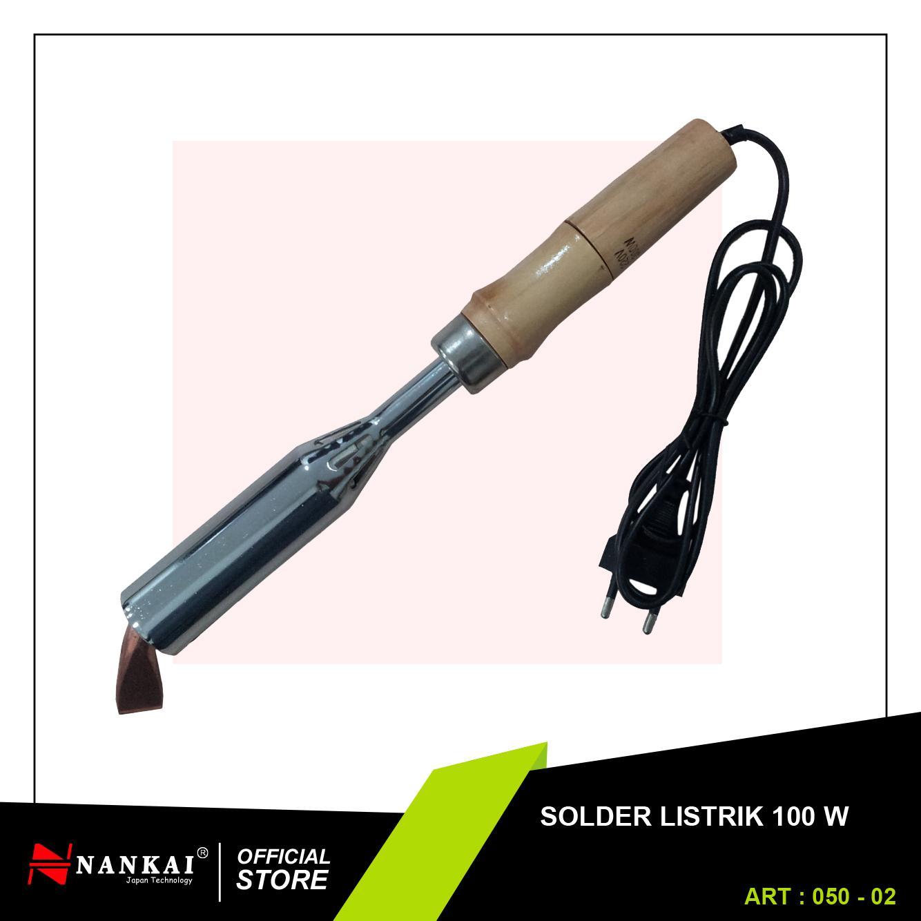 Solder Listrik Alat Patri - Electric Iron Solder 100W Nankai