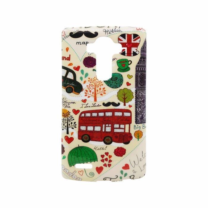 Back Soft Case Fancy Glitter Art LG G4