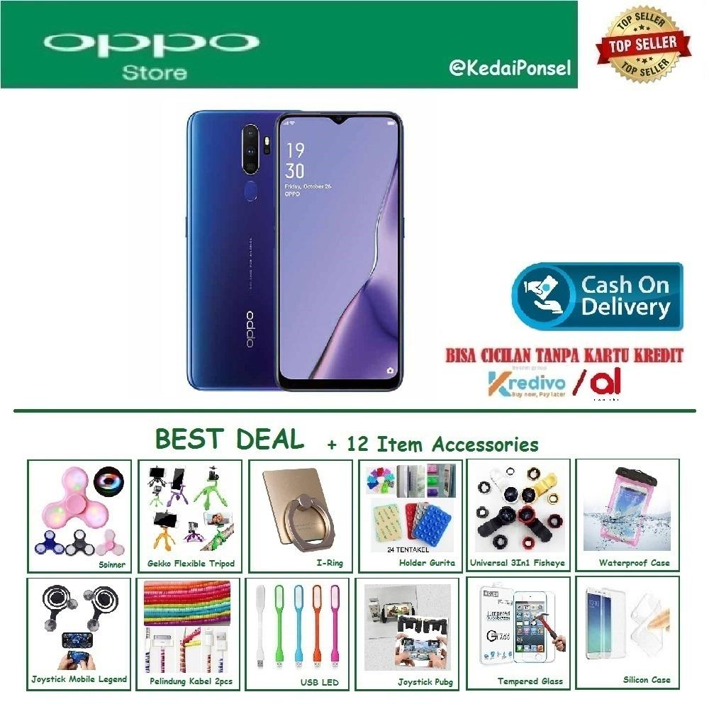 OPPO A9 [8/128GB] - Best Deal +12 Item Accessories