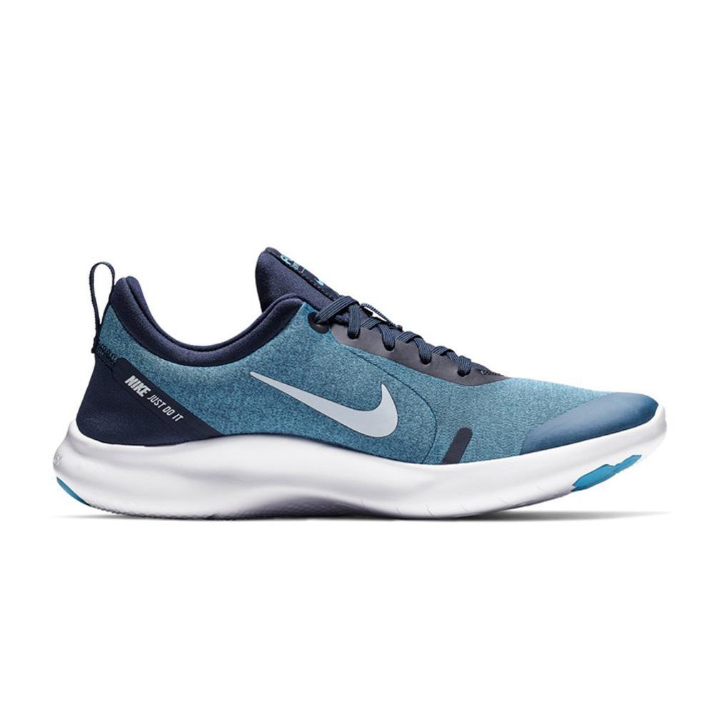 Sepatu Olahraga Lari Fitness Gym Nike Flex Experience RN 8 Men's Running Shoes- Black AJ5900402