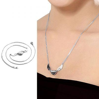 Kalung Titanium Fashion Wing Lovenecklace Des004 By Toko Susu.
