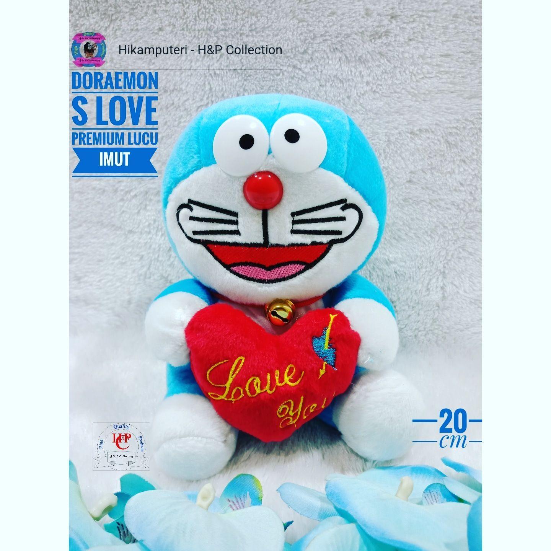 Boneka Doraemon S LOVE PENSIL WALKMAN WISUDA Lucu Imut