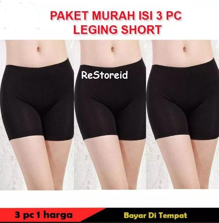 Celana Legging Pendek Wanita Celana Short Murah Celana Promo Celana Murah Lazada Indonesia