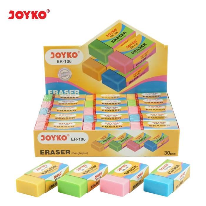 Eraser / Penghapus Joyko ER-106 / 1 BOX 30 PCS