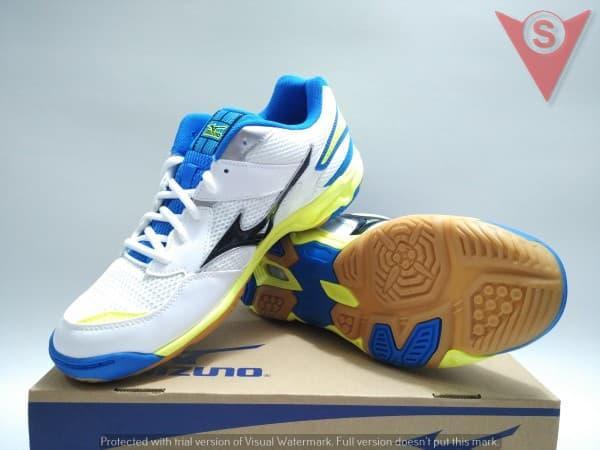 SEPATU BADMINTON VOLLY RUNNING - MIZUNO WAVE TWISTER 4  V1GA157008 - ready  stock a2702abca2