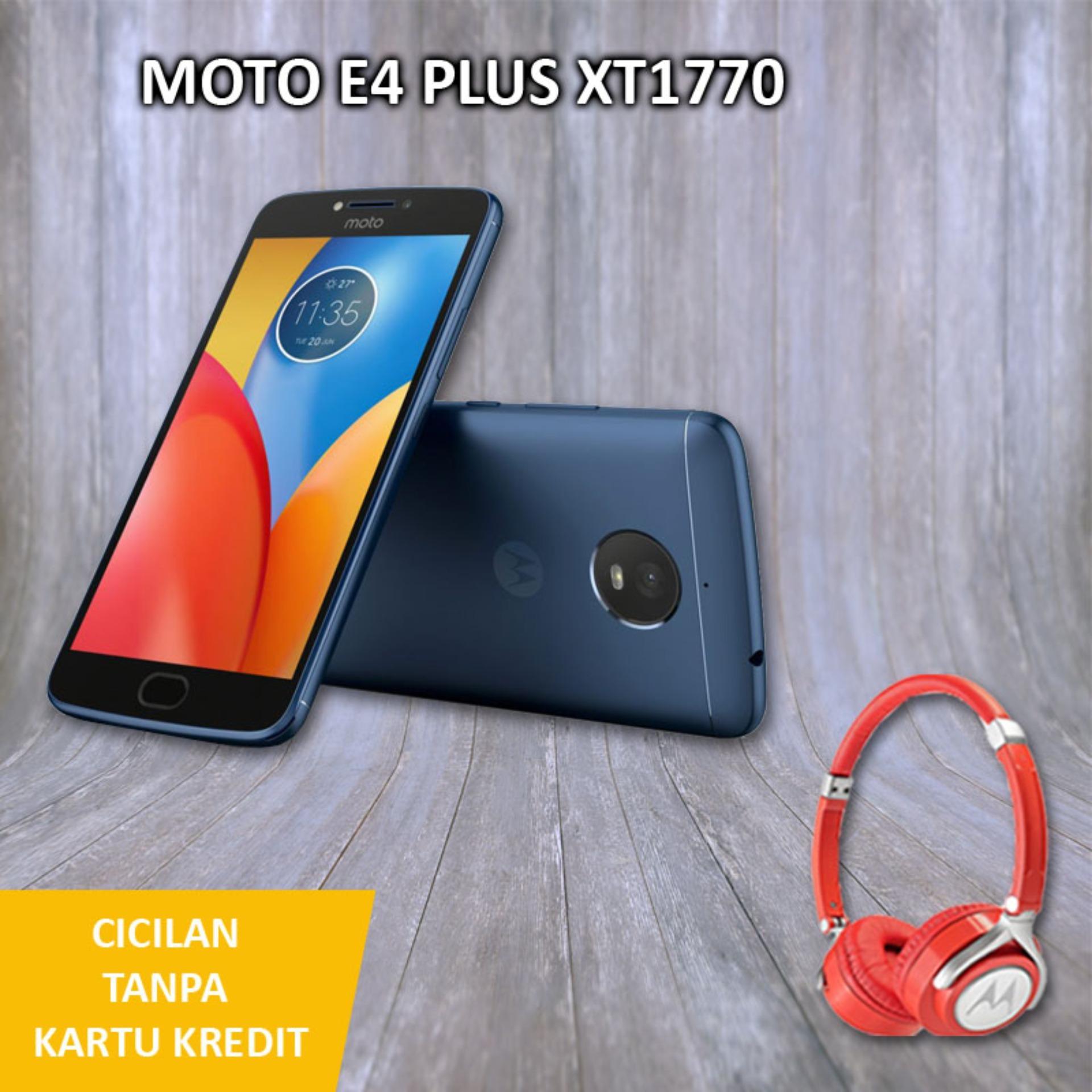 Motorola Moto E4 Plus Smartphone - [32GB/3GB] + Free Headphone